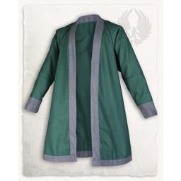 Viking kaftan Rasoul, uld, grøn