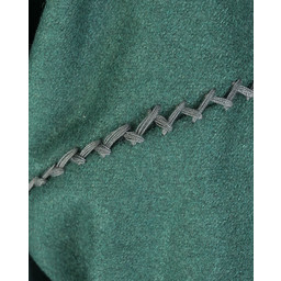 Viking kaftan Rasoul, wol, groen