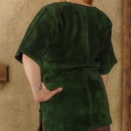 Tunika Godwin, zamszu, zielony