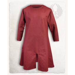 Middeleeuwse tuniek Wolfram, rood