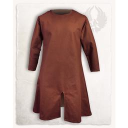 Middelalder tunika Wolfram, brun