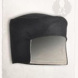 Renaissance Hut Rafael Wolle, schwarz