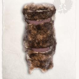 Fur vambrace Arthur, brown