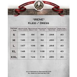 Middeleeuwse jurk Irene
