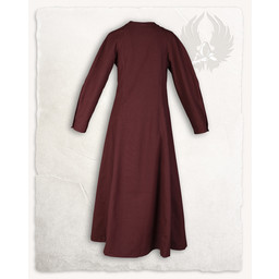 Średniowieczny strój Jovina, czerwony