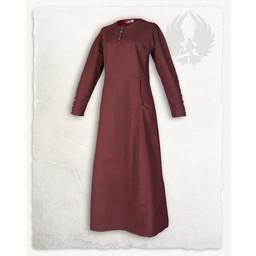 Medieval kjole Jovina, rød