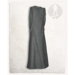 Surcot Juliana, herringbone motif, grey