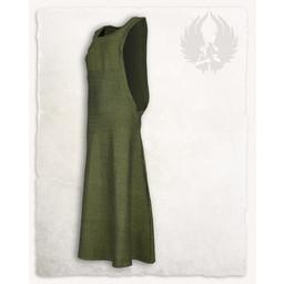 Surcot Juliana, Fischgrät-Motiv, grün