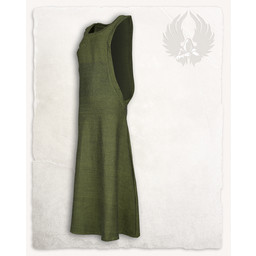 Surcot Juliana, sildeben motiv, grøn