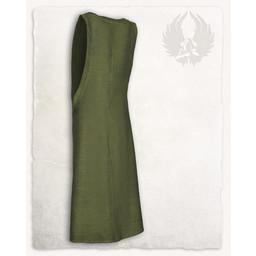 Surcot Juliana, motyw jodełkę, zielony