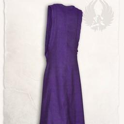 Surcot Juliana, herringbone motif, purple