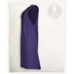 Medeltida ärmlös klänning Lenora, lila