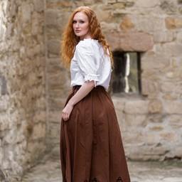 Bluzka Rosamund, biała