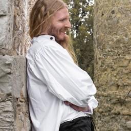 Button skjorta, vit