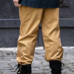 Cotton trousers Alin, honey