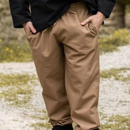 Cotton trousers, sand