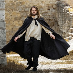 Płaszcz średniowieczny Karen czarny