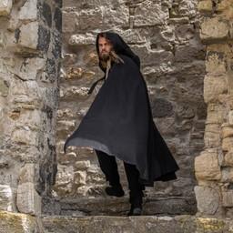 Capa medieval Karen negro