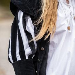 Jacka med öppna ärmar, svart