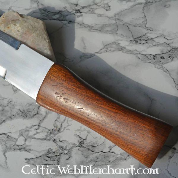 Viking sax med skede