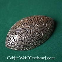 Jellinge turtle brooch
