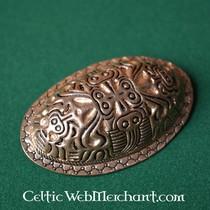 Viking turtle brooch Finland