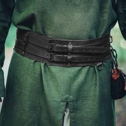 Celtic belt Ruari, black