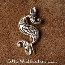 Celtic-Roman sea horse fibula