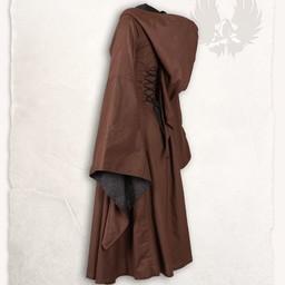 Medieval dress Ophelia, brown-black