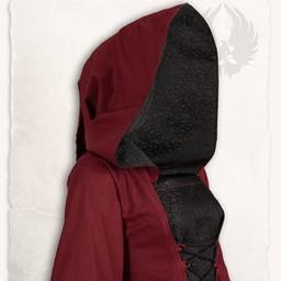 Medieval Kjole Ophelia, Red-Black