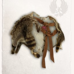 Fur collar raccoon Elmar