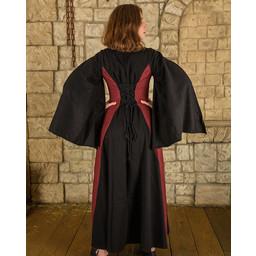 Medieval Kjole Jasione, Sort / Bourgogne