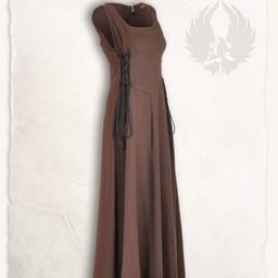 Medieval surcot Uma, brown