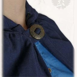 Mantel Aaron blauw