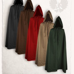Cloak aaron uld, brun
