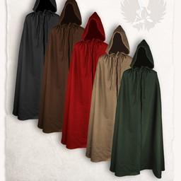 Cloak Aaron wełna, czerwony