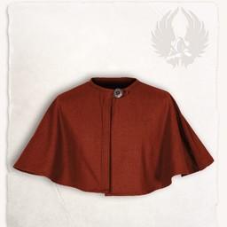 Pelerine Bron, röd