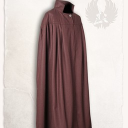 Mantel Bron, wol, bruin