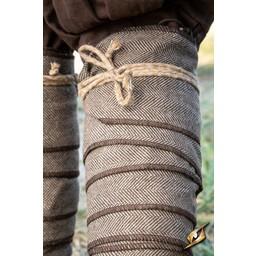 Viking Winingas Herringbone Motif, Brown