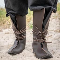 Botas vikingas Rolf, marrón