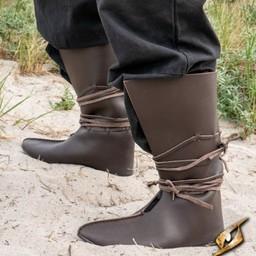Buty wikingów Rolf, brązowe