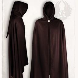 Gora wełniana płaszcz, brązowy