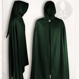 Gora wełniana płaszcz, zielony