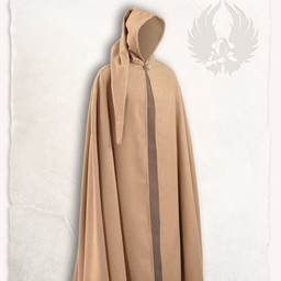 Gora wool cloak, sand