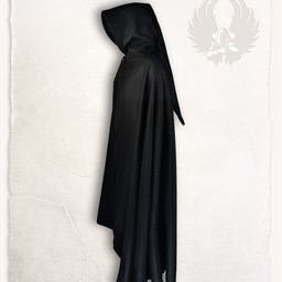Gora wool cloak, black