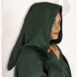 Mittelalterliche Kap Kim Wolle, grün