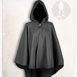 Mittelalterliche Kap Kim Wolle, grau