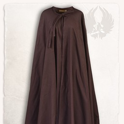 Medieval cloak Rudolf, brown