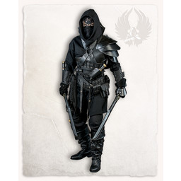 Geralt Armschiene für Wurfmesser, braun, rechts