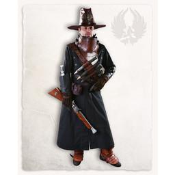 Geralt vambrace for throwing knives, black, left